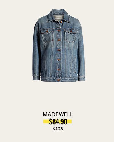 NORDSTROM ANNIVERSARY - Oversize Denim Jacket MADEWELL