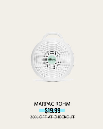 ADD TO FAVORITES   Marpac Rohm Portable White Noise Machine for Travel
