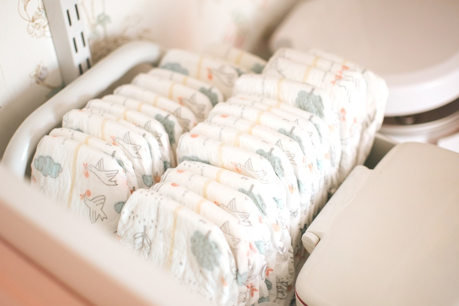 The Diaper Organizing Hack you Need to Know! via. The Pacific Standard | www.thepacificstandard.com