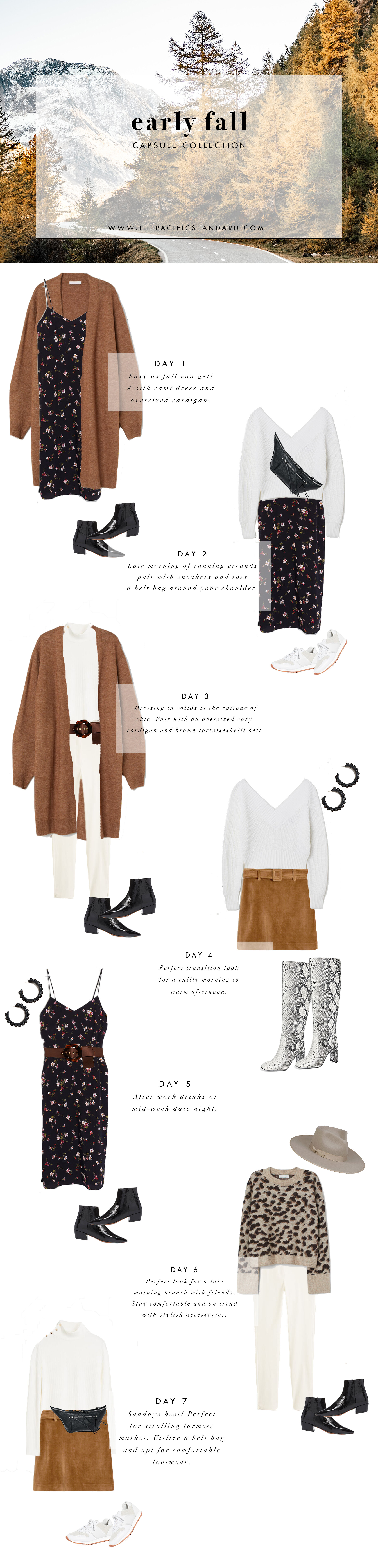 Fall fashion outfit ideas via. The Pacific Standard | www.thepacificstandard.com