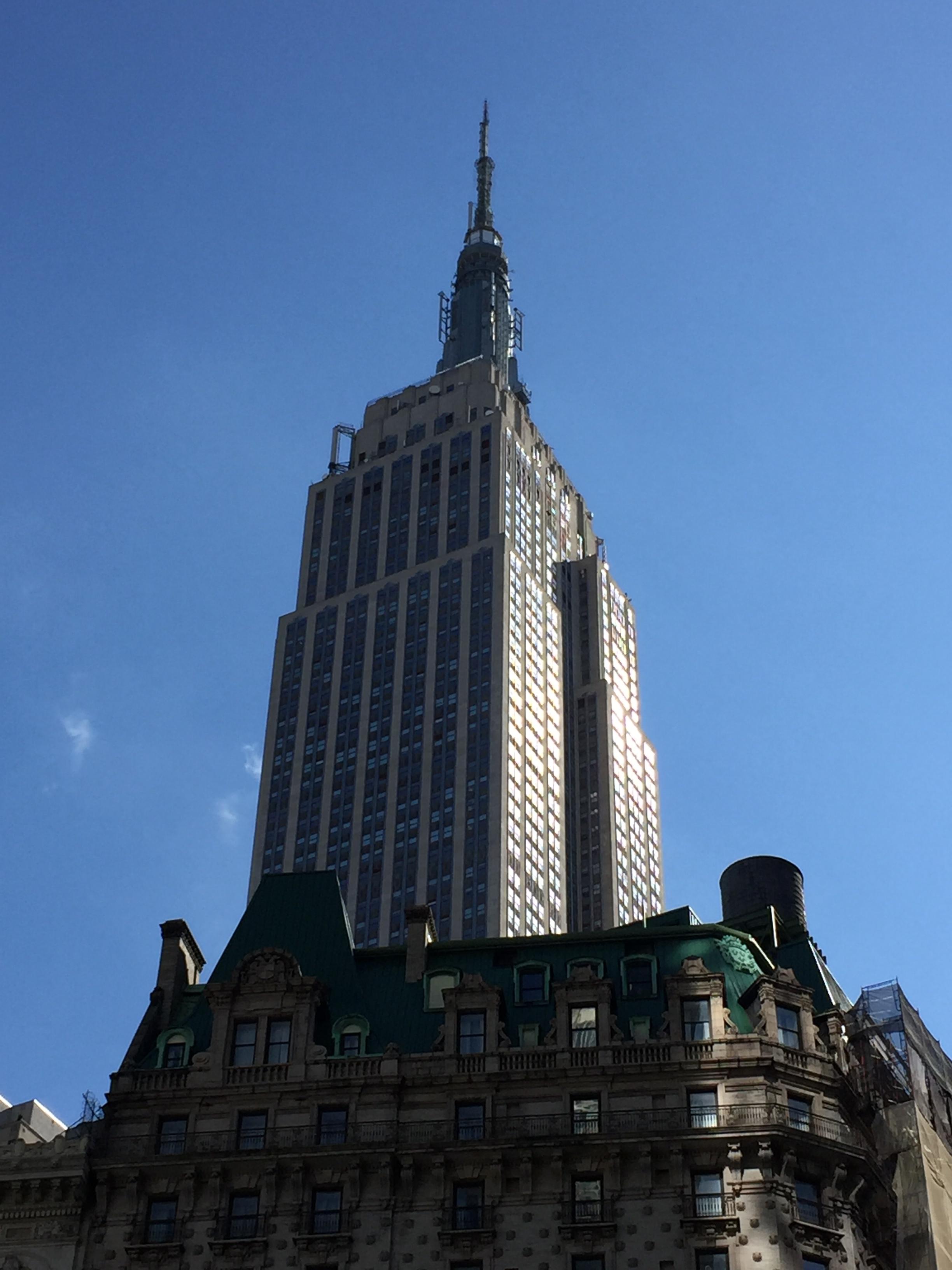 Empire State Building's Art Deco Crown