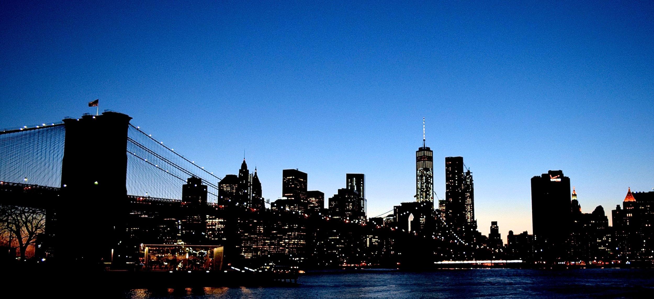 NYC Skyline From DUMBO