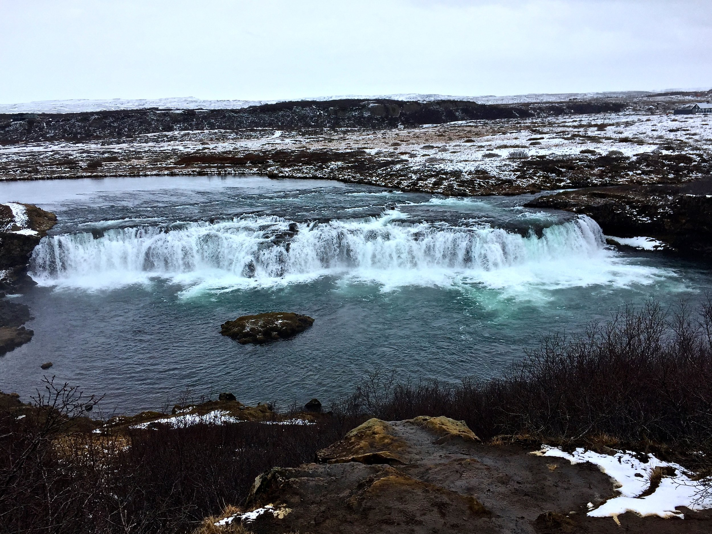 The Faxi Waterfall