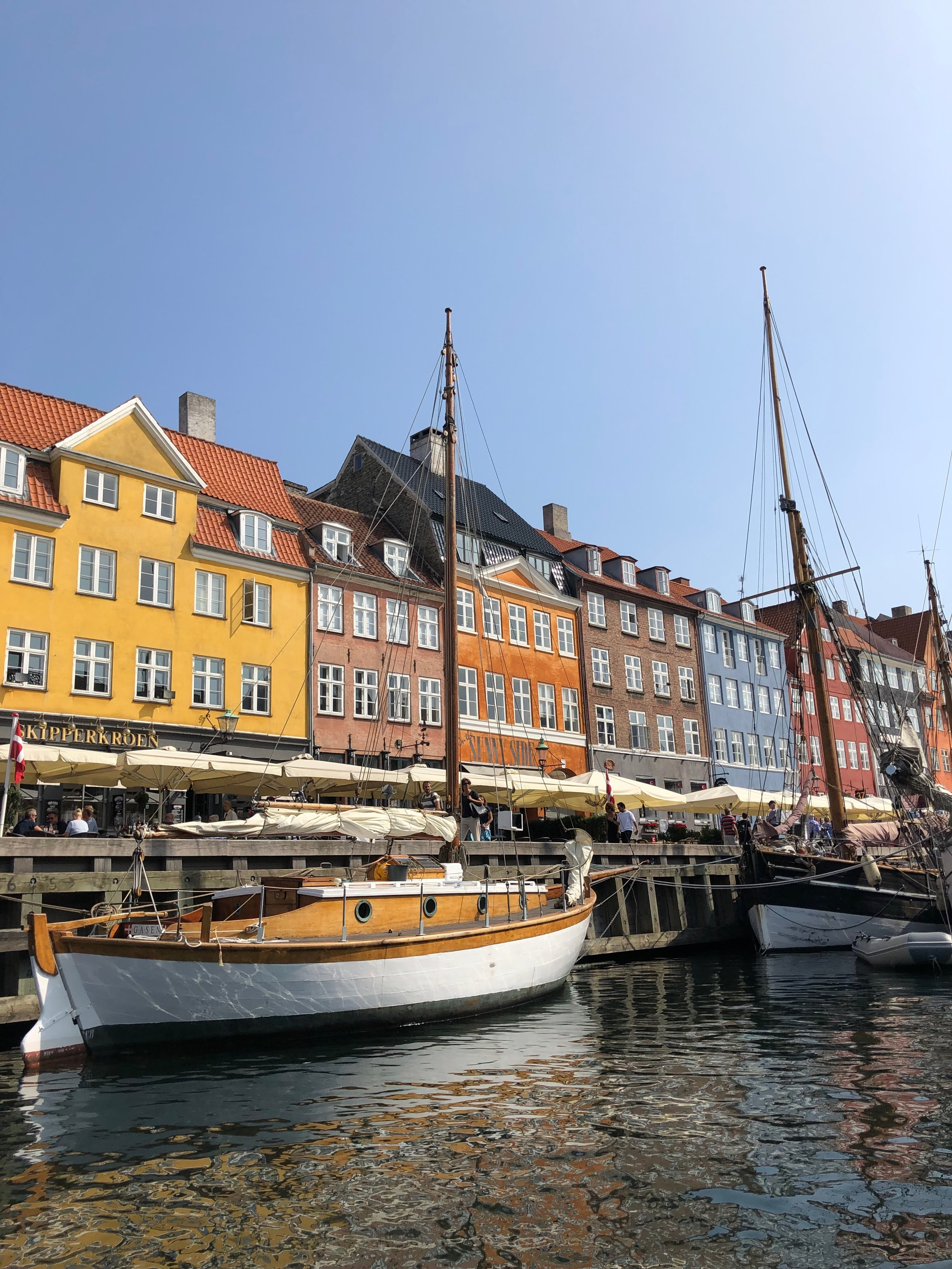 Nyhaven Canal: visit the colorful shops and restaurants