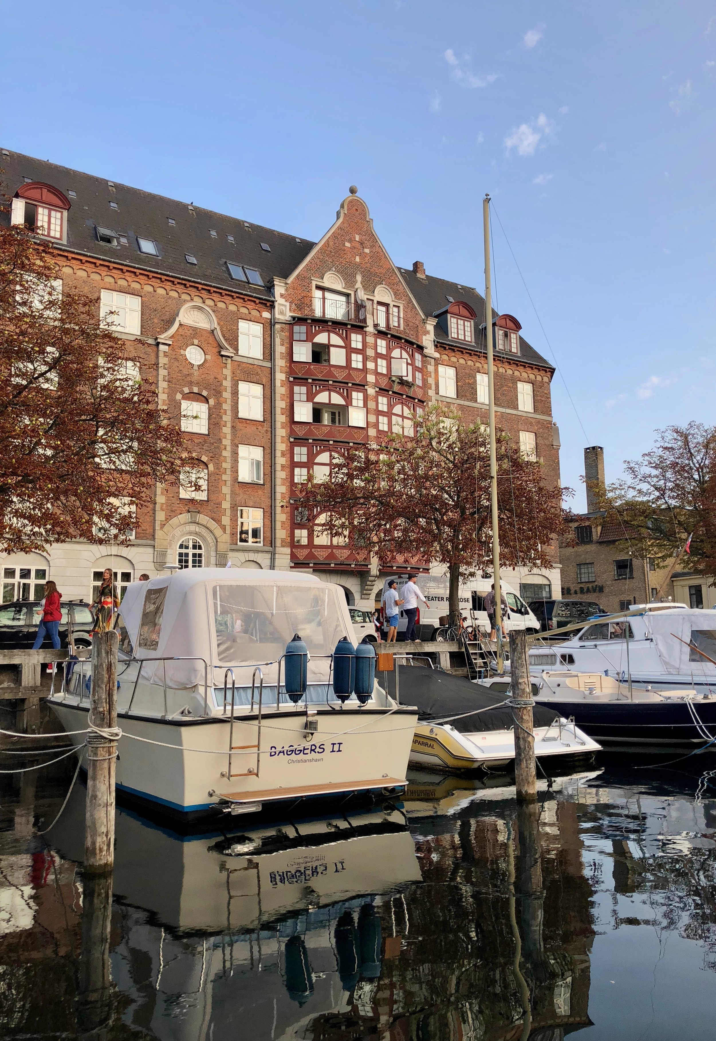 Take a morning stroll along one of the many canals