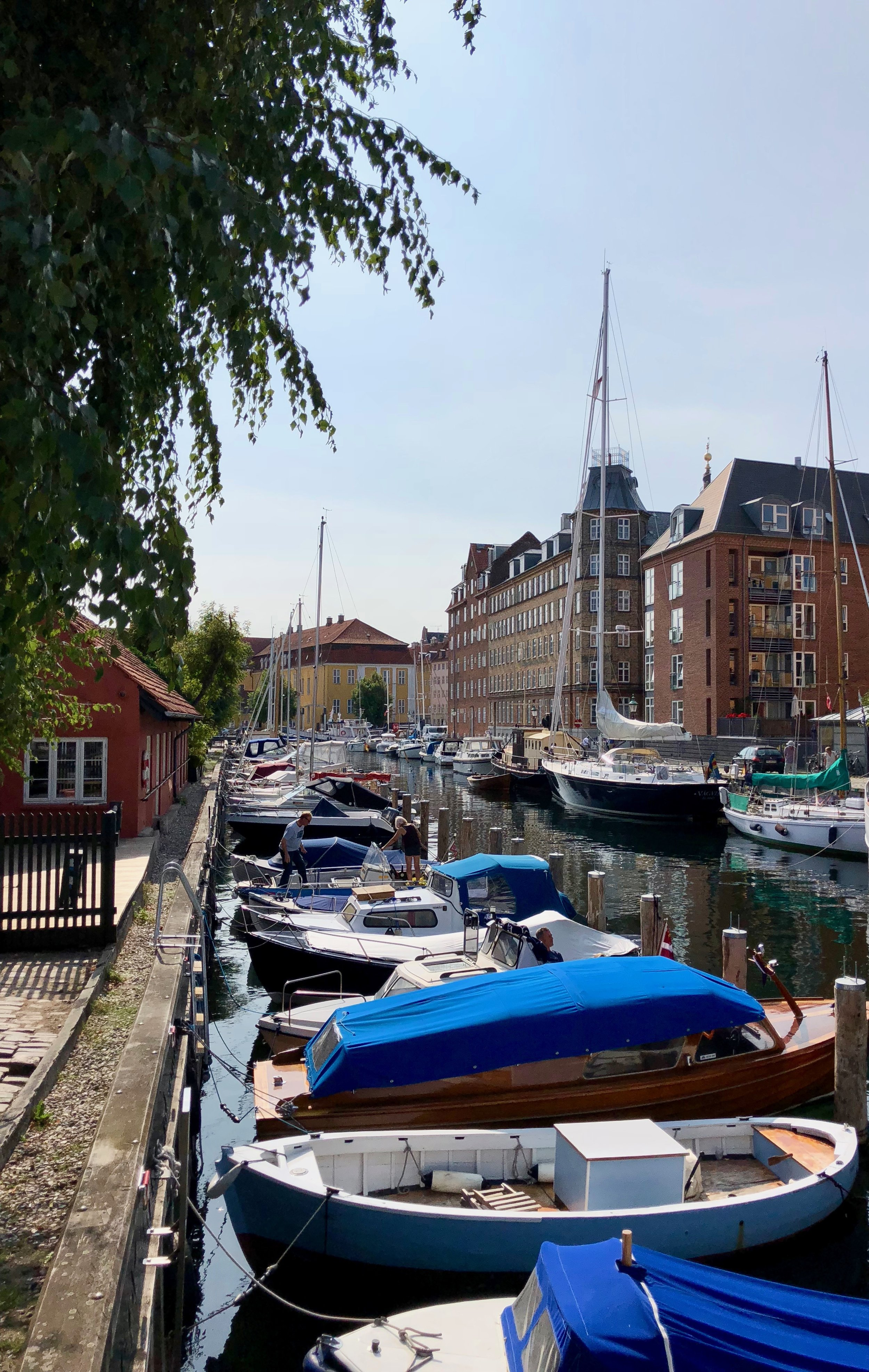 Explore one of the smaller canals