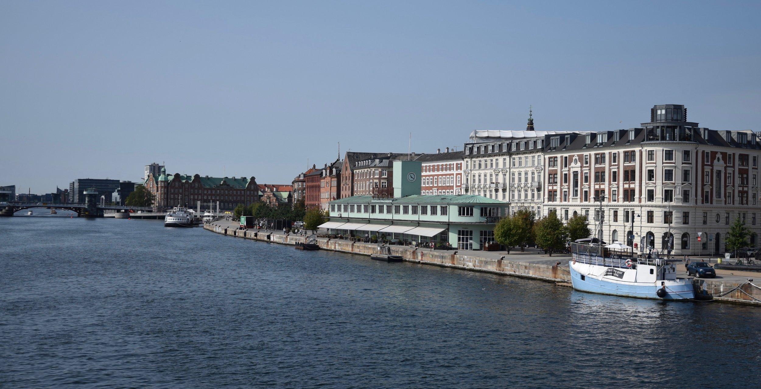 View North: Nyhavn (New Harbour)