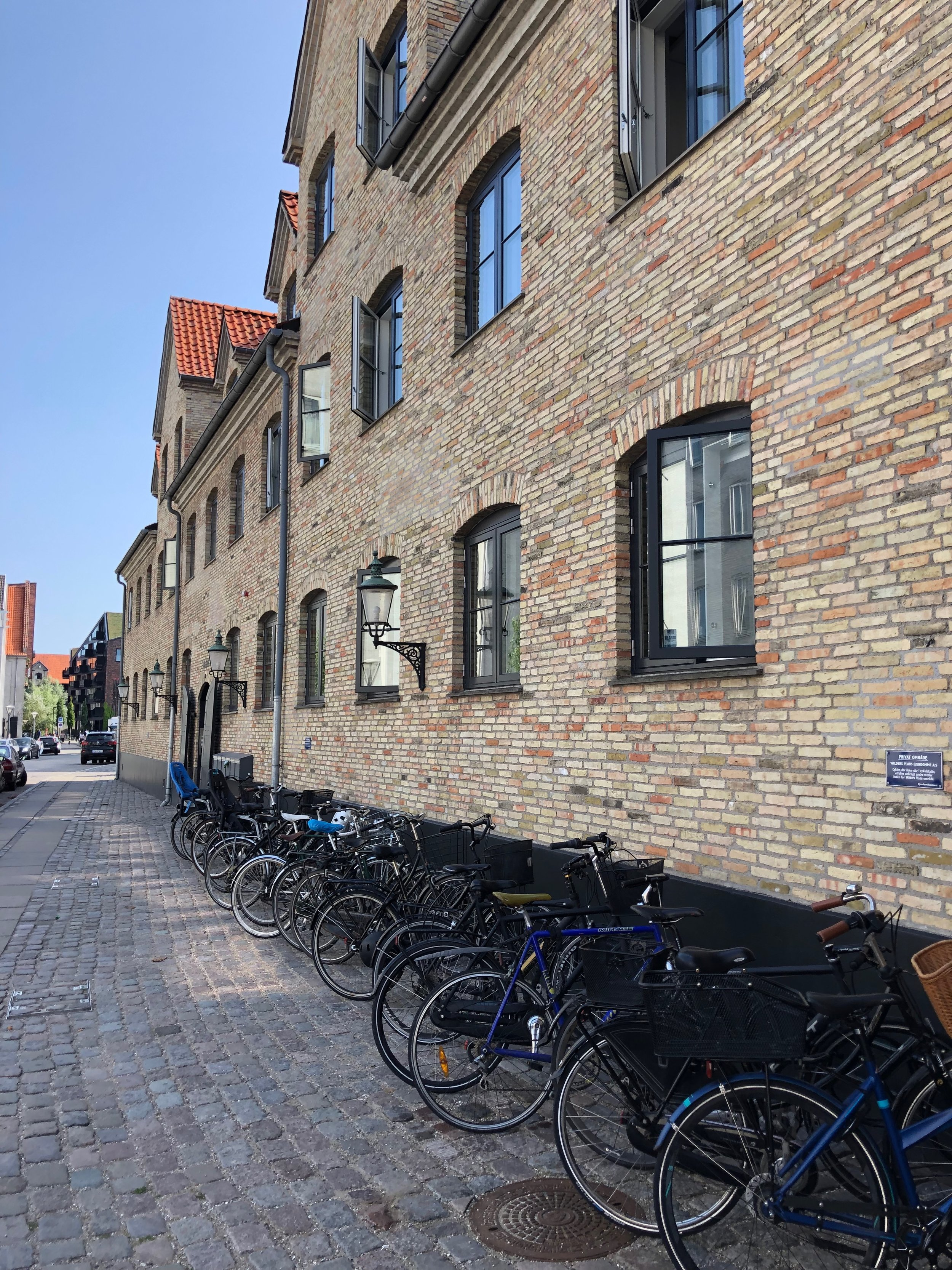 Biking is the way locals get around Copenhagen
