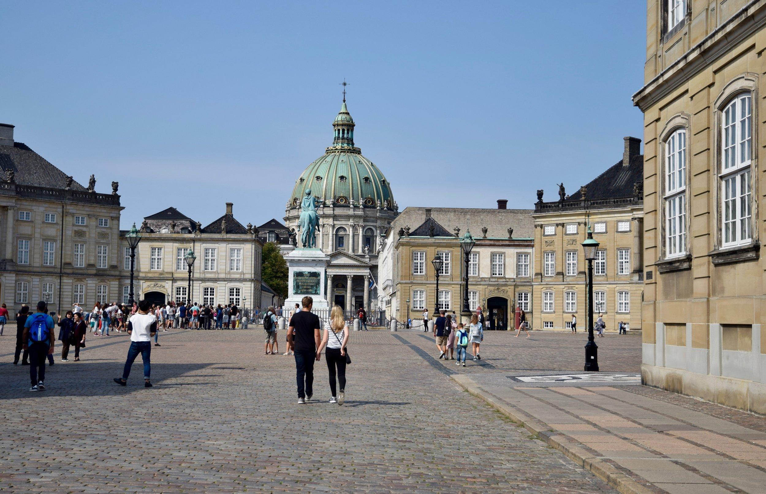 The Square at Amalienborg