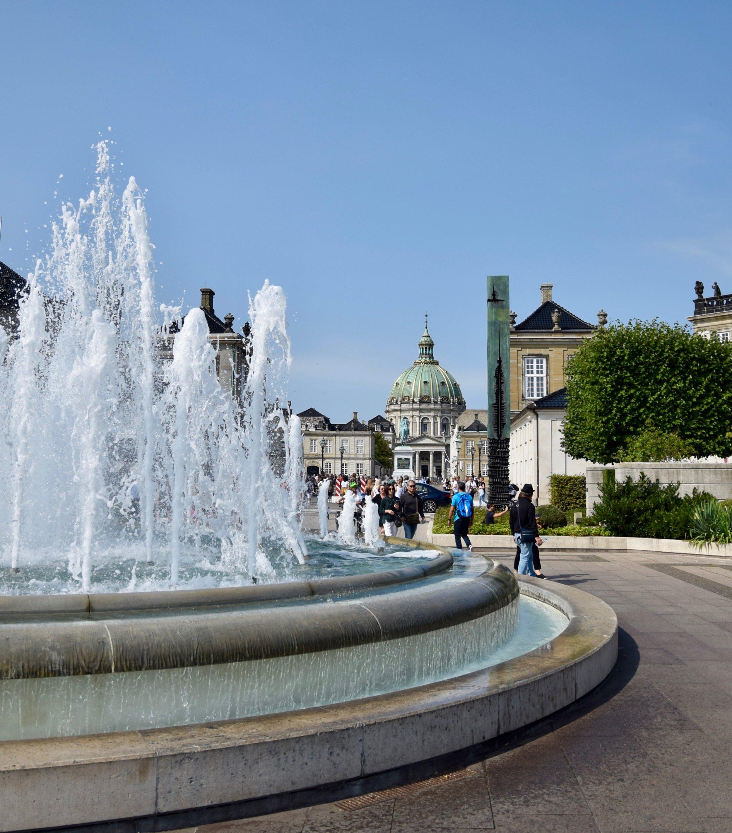 Fountain at Amalie Garden