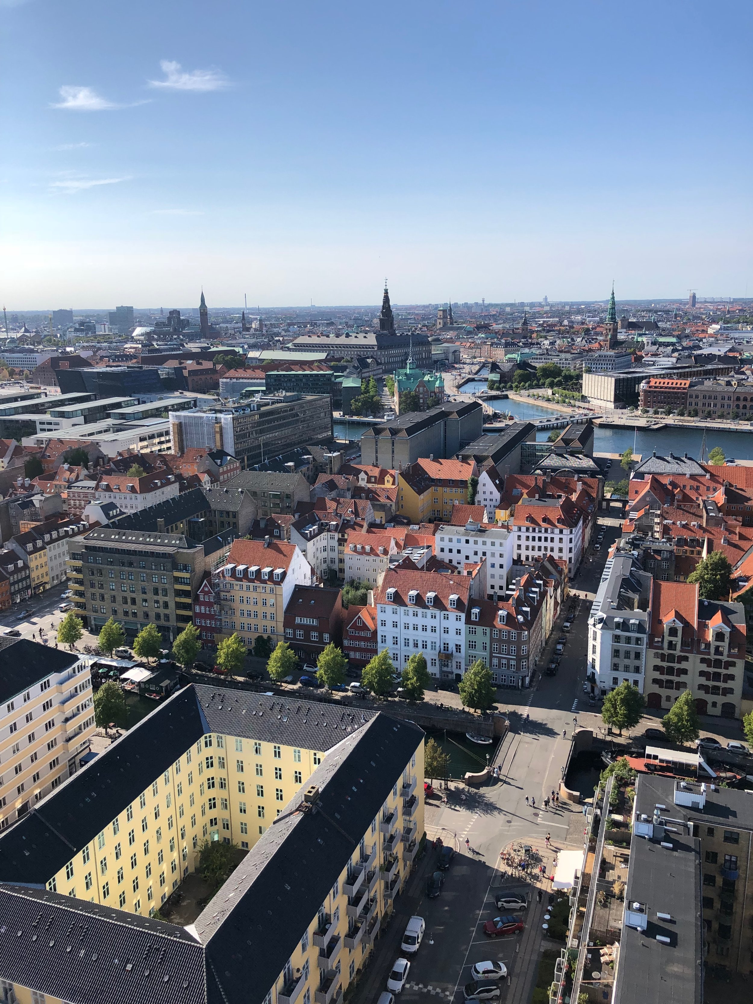 View North-East: Christiansborg Palace