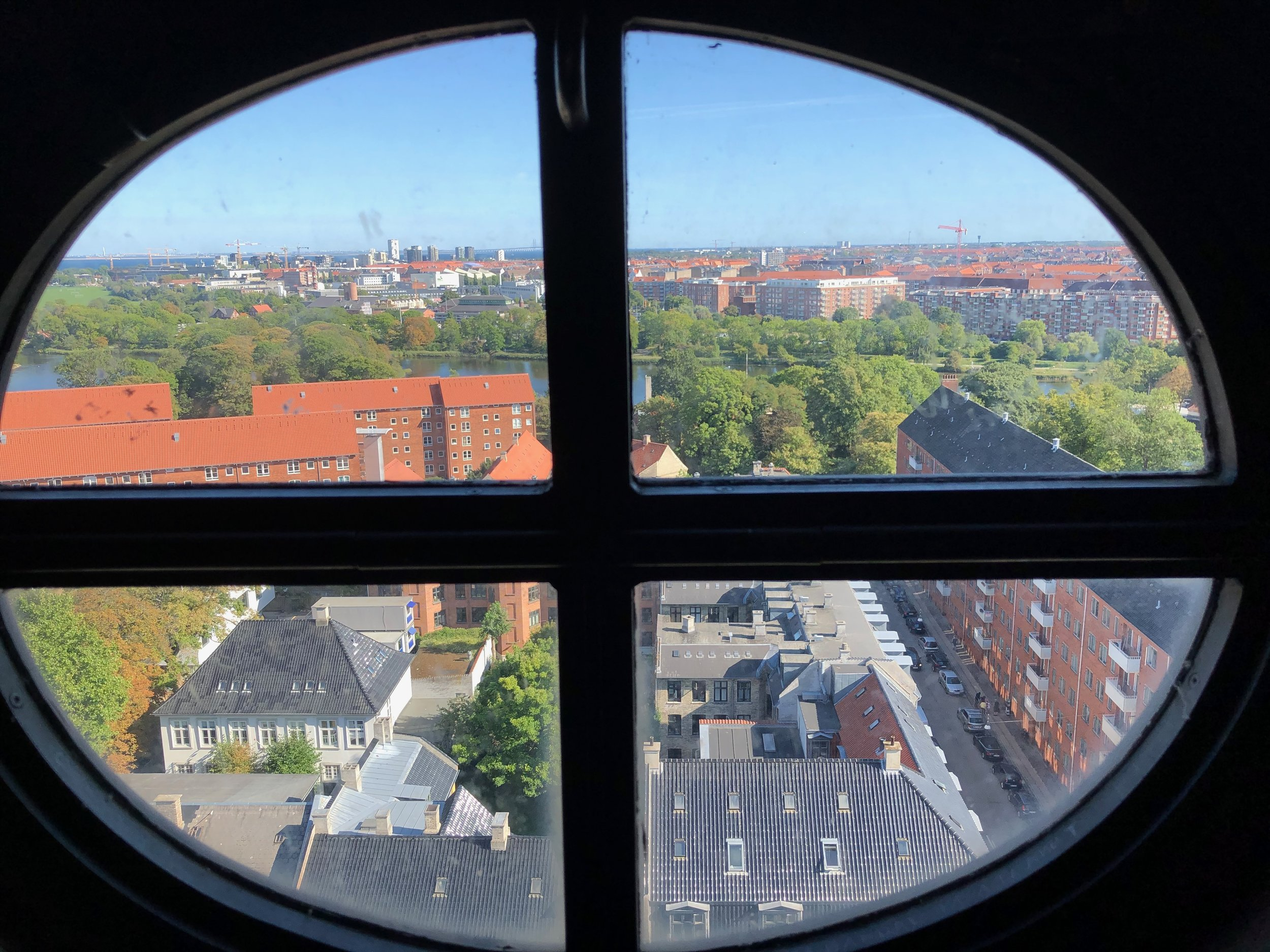 A sneak peak from the bell tower