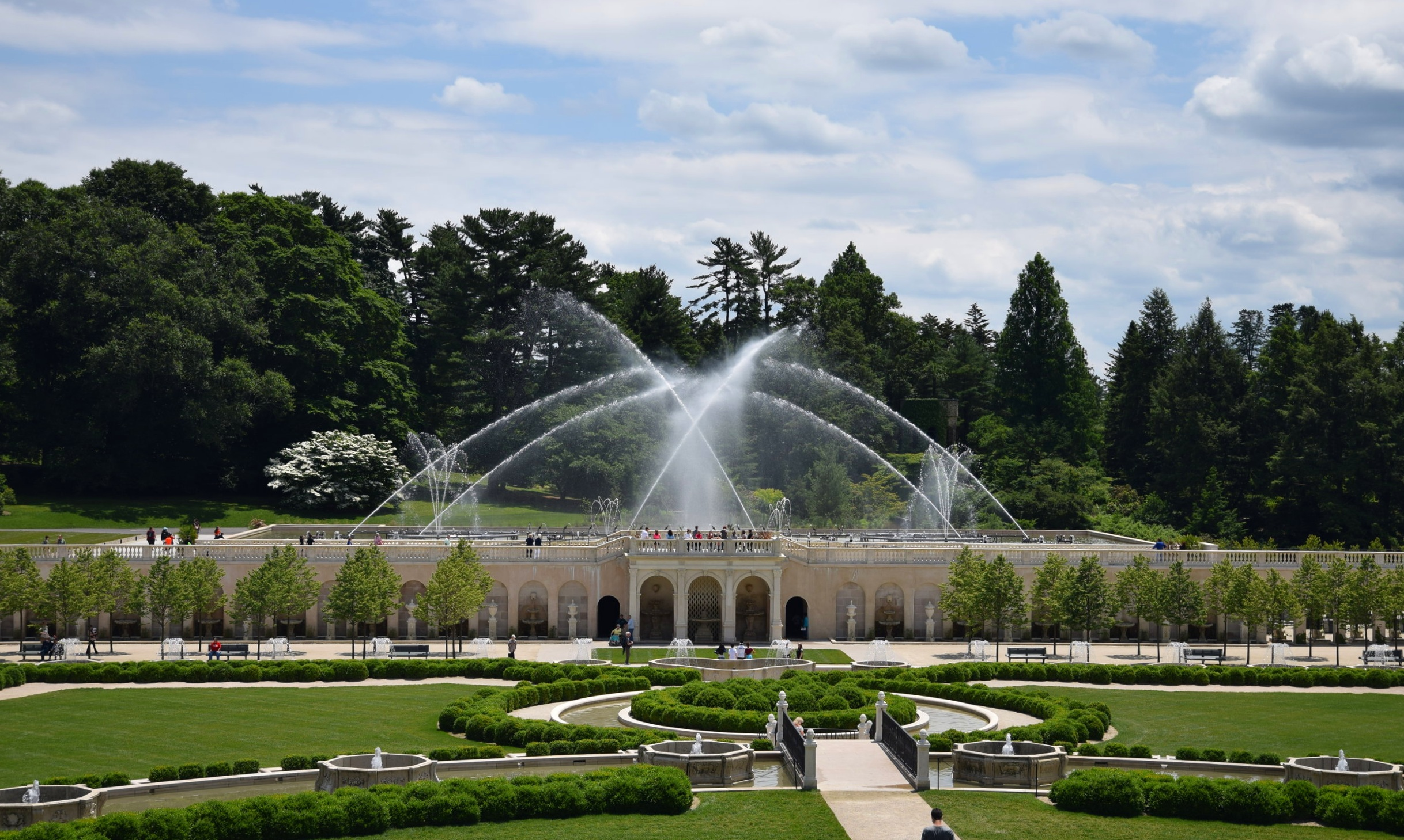 The Fountain at Longwood Gardens