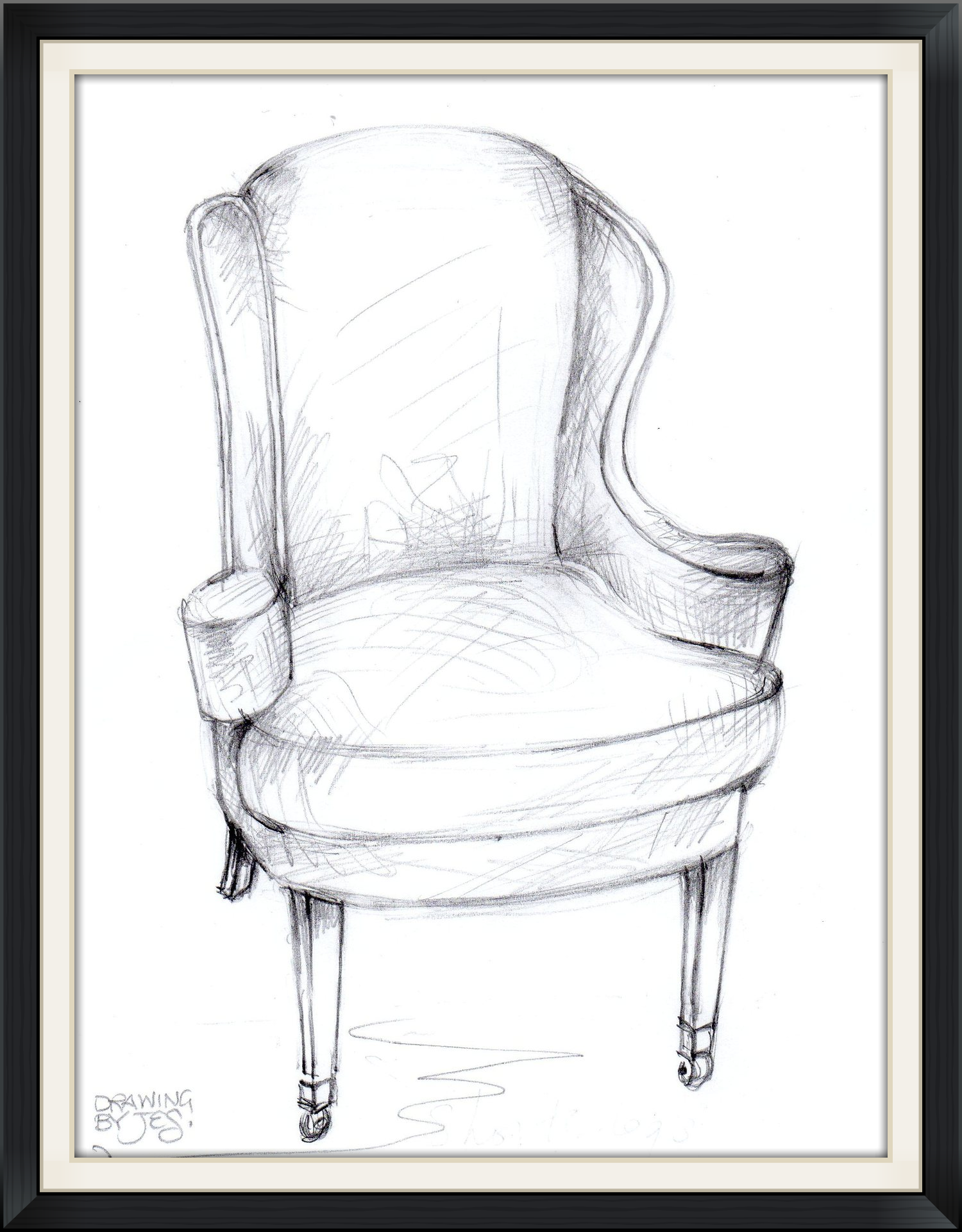 Regency Wing Chair