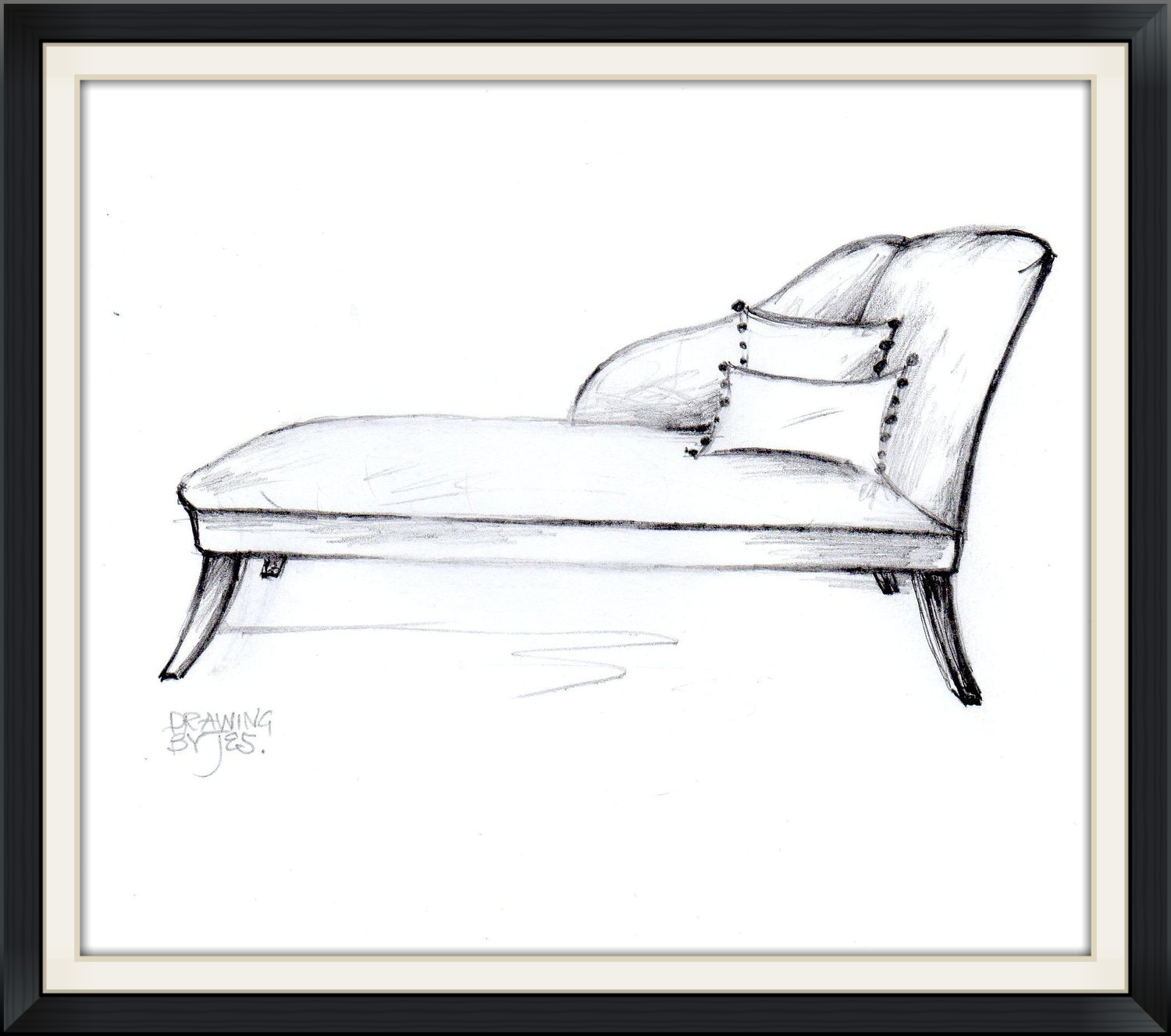 Paris Daybed / Chaise longue