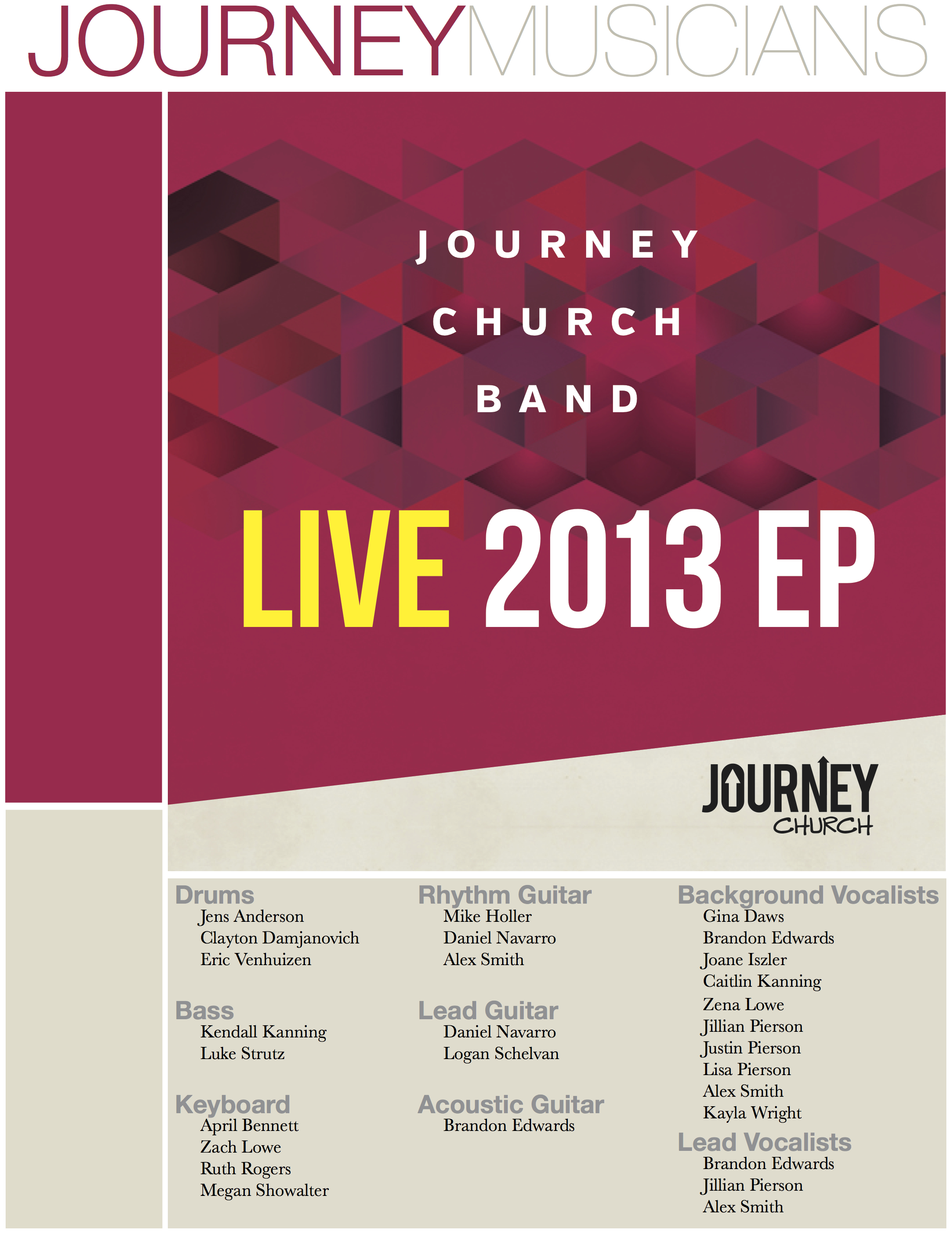 Journey Musicians on Live 2013 EP JPEG.jpg