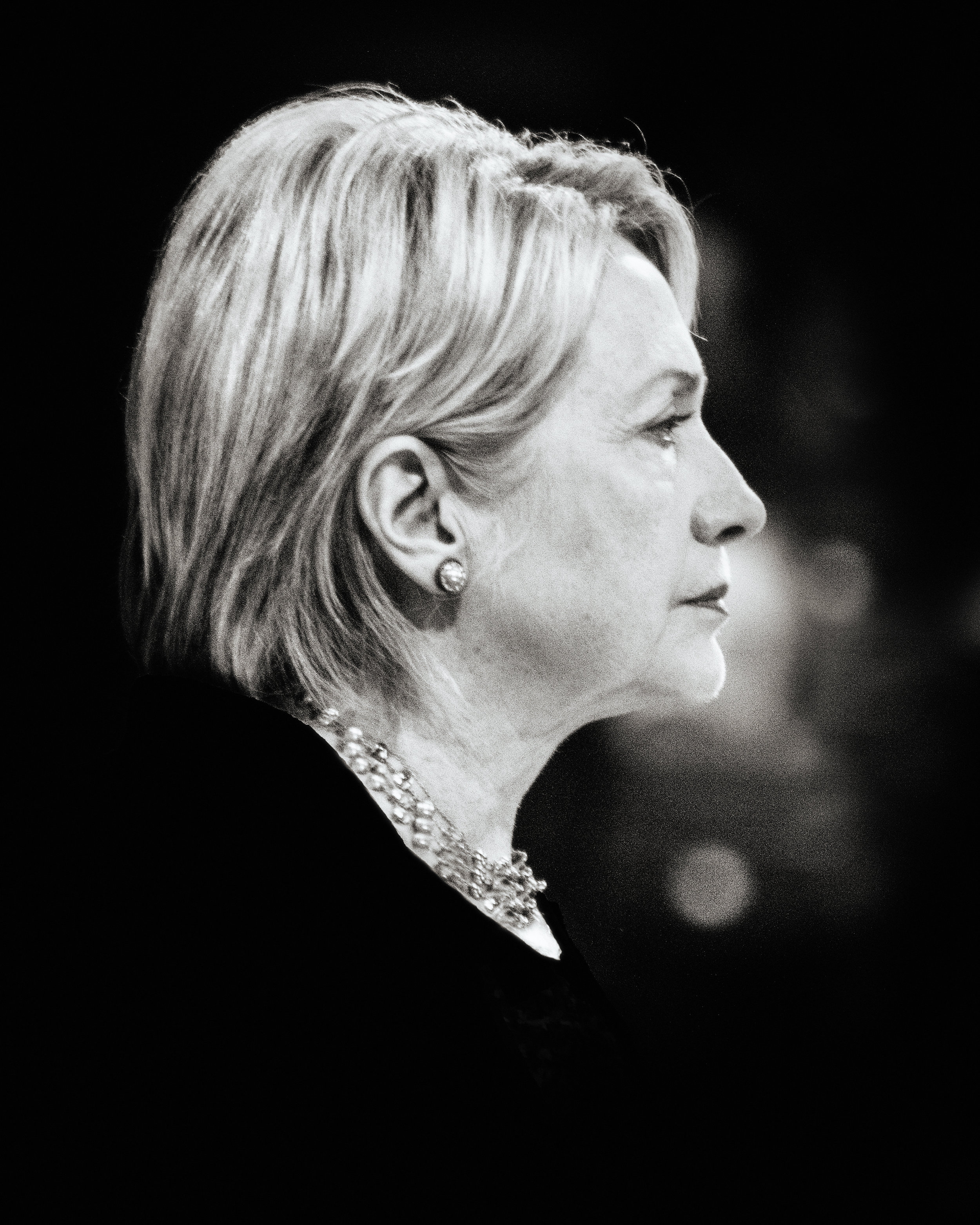 Hillary Clinton Portrait 5