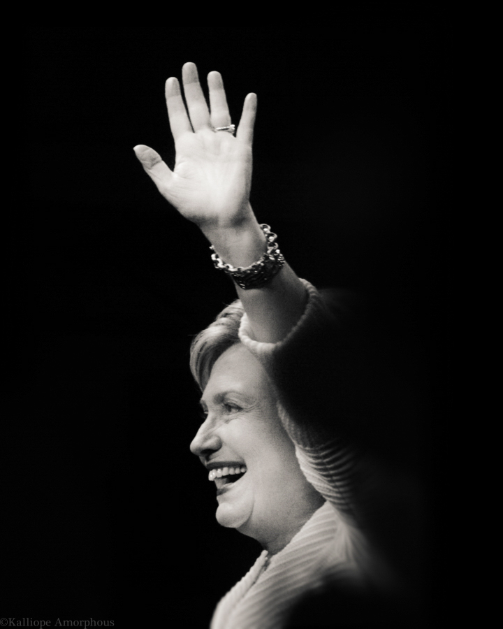 Hillary Clinton Portrait 6