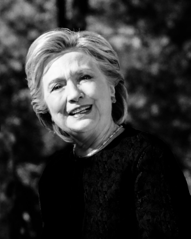 Hillary Clinton Portrait 12