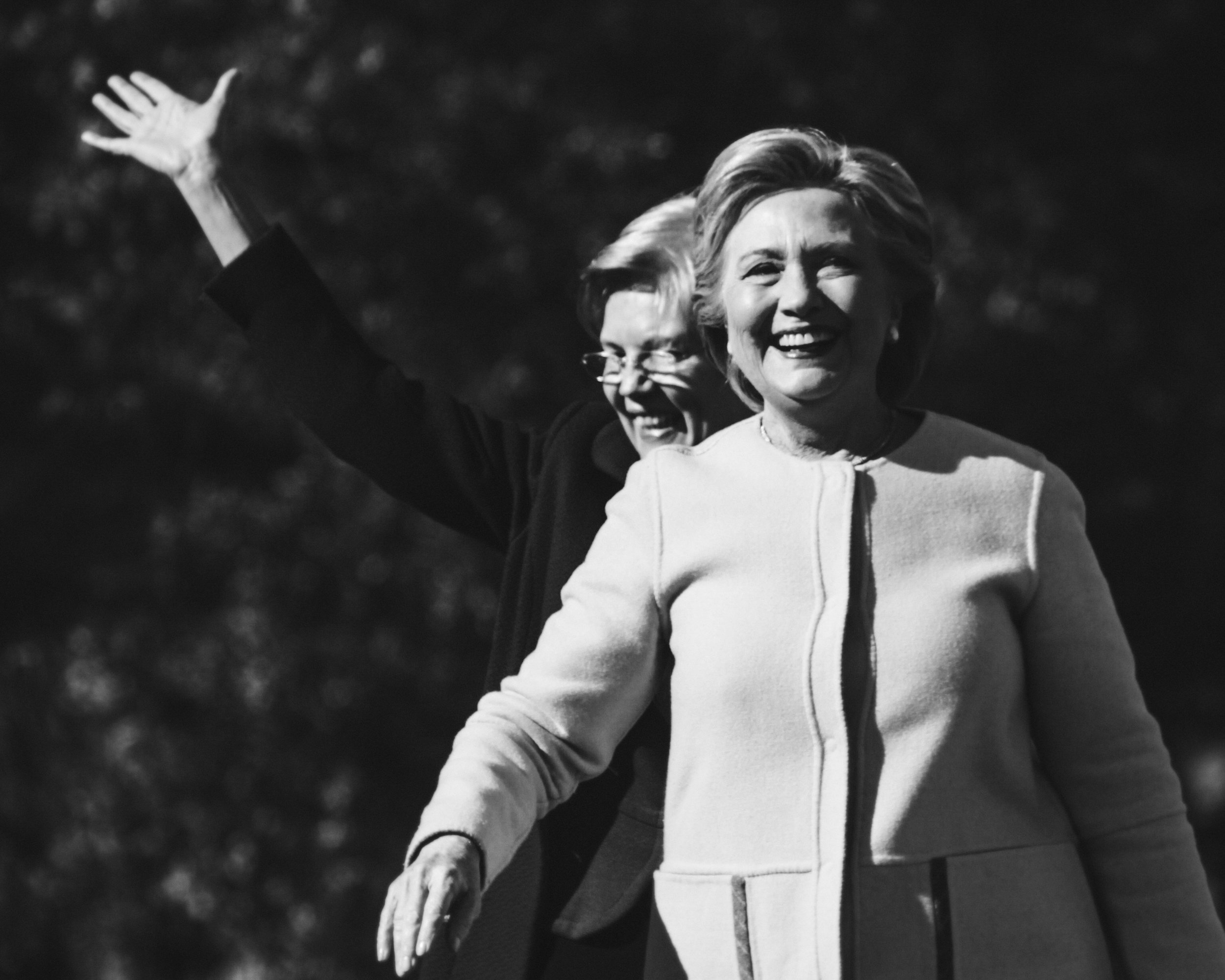 Hillary Clinton Portrait 11
