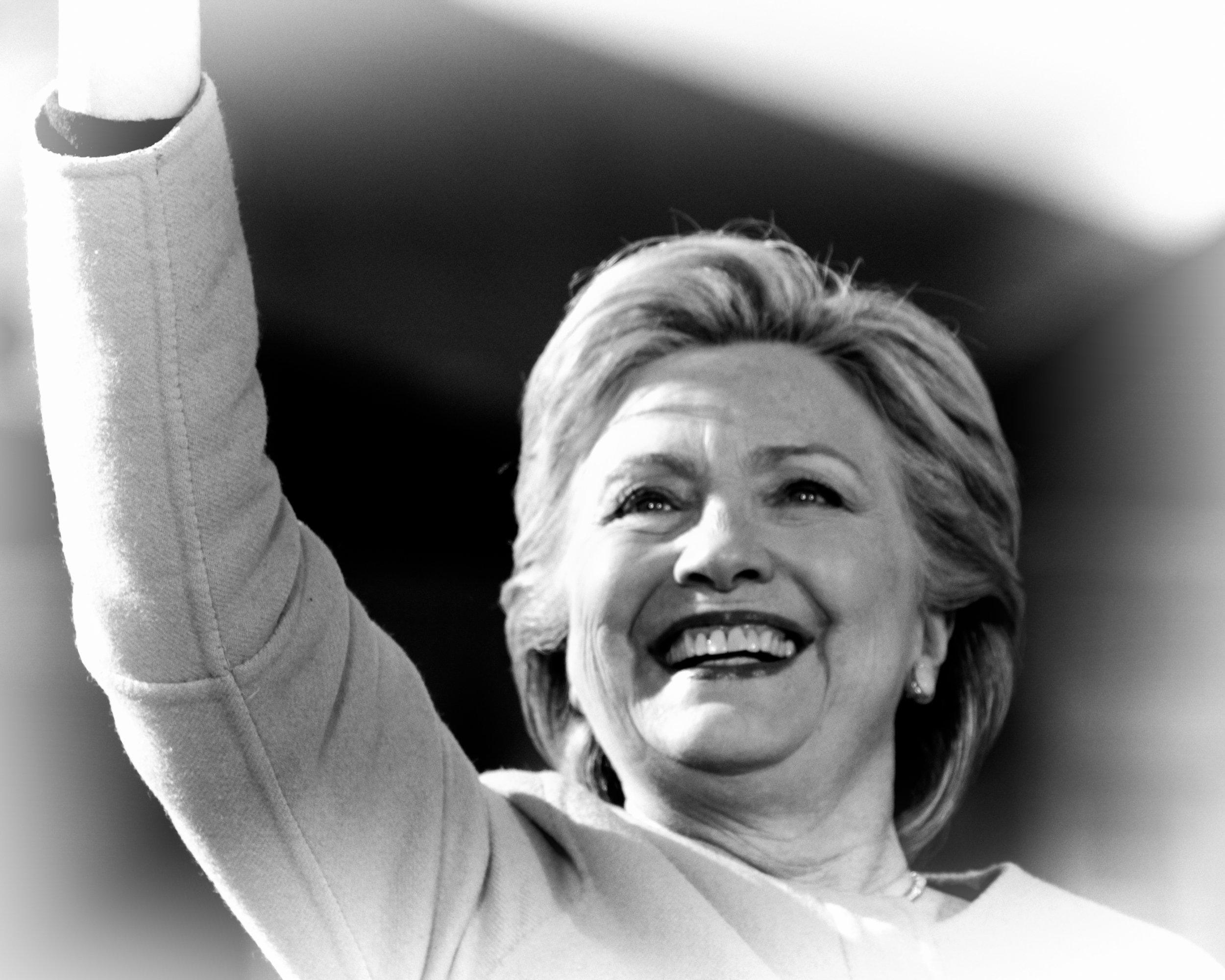 Hillary Clinton Portrait 13