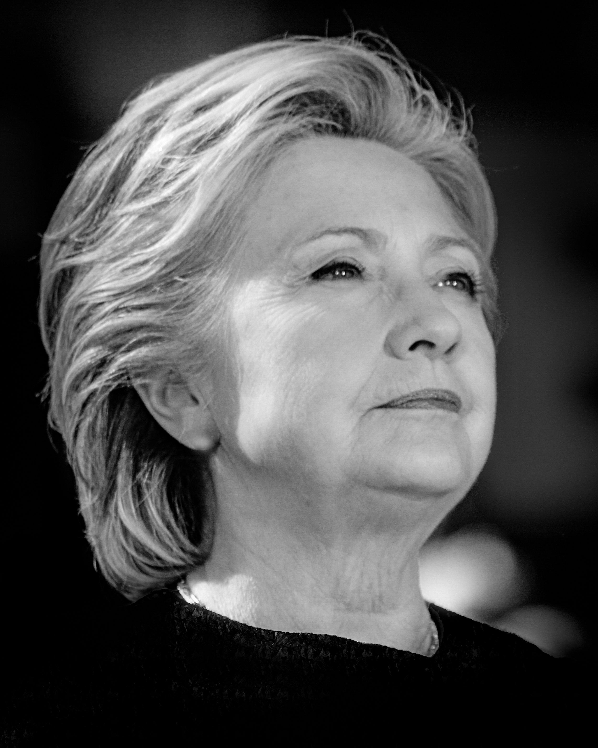 Hillary Clinton Portrait 14