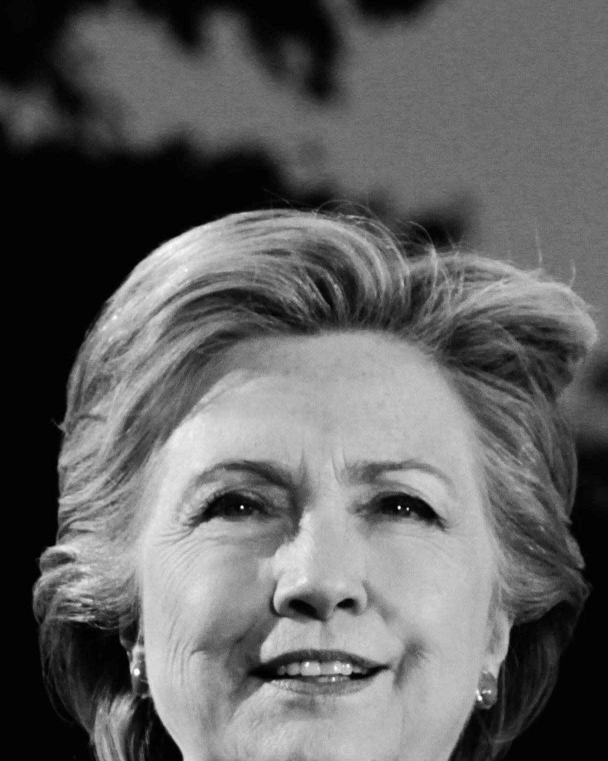 Hillary Clinton Portrait 21