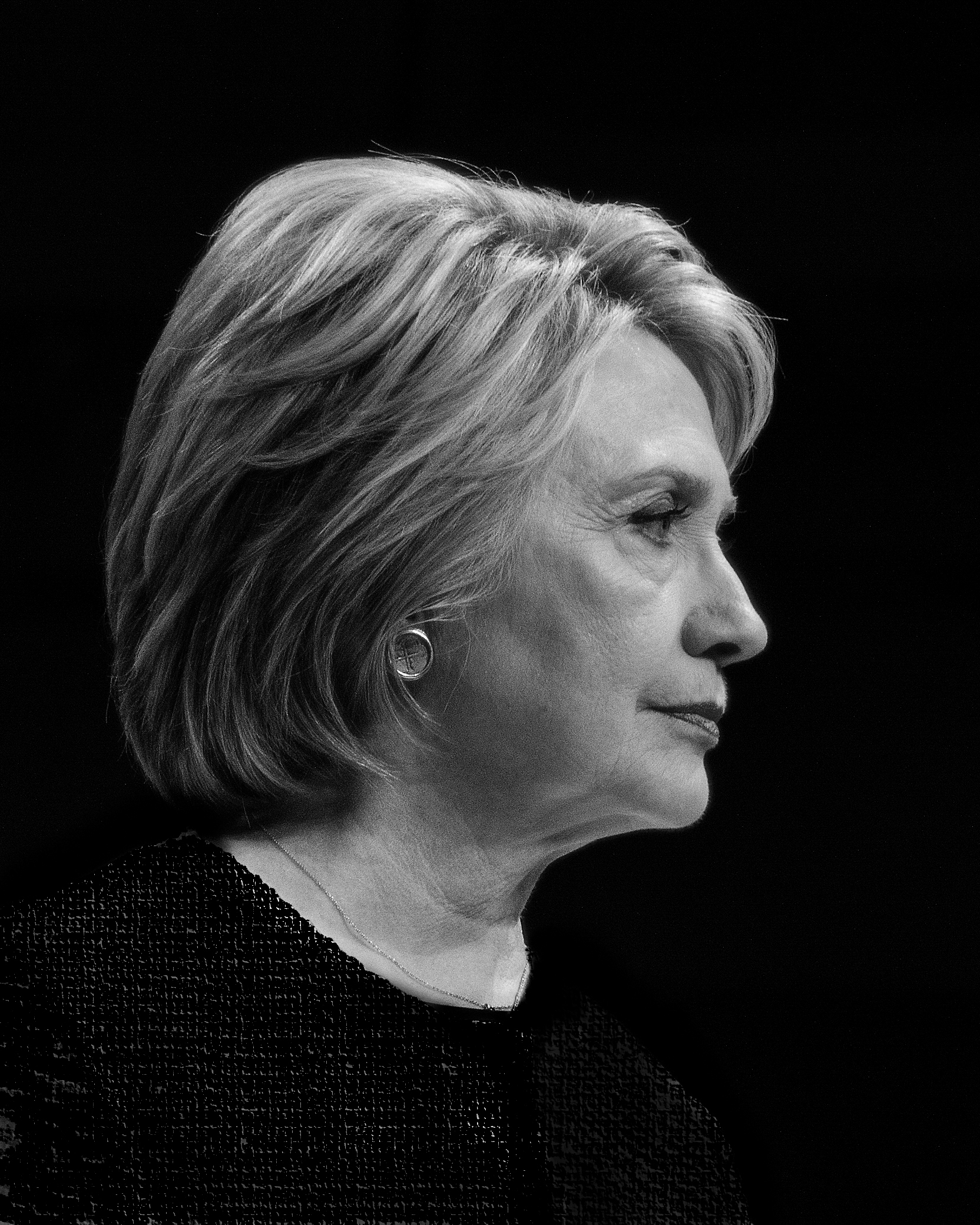 Hillary Clinton Portrait 22