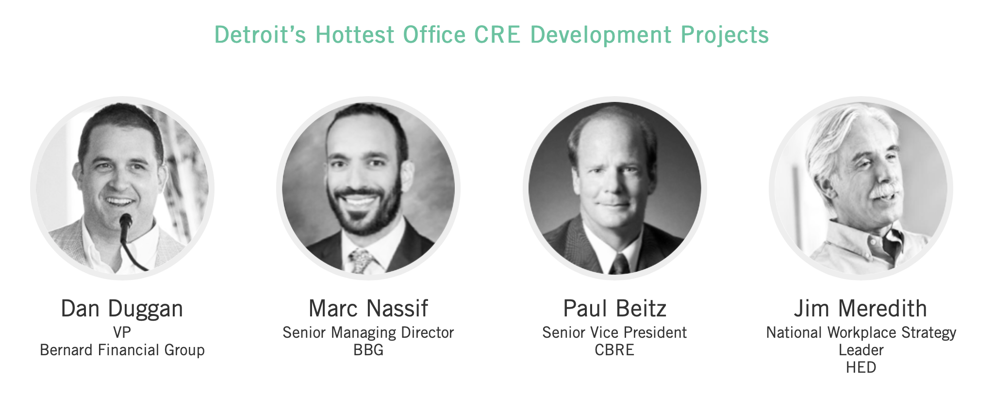 Detroit's Hottest Office Developments Panel