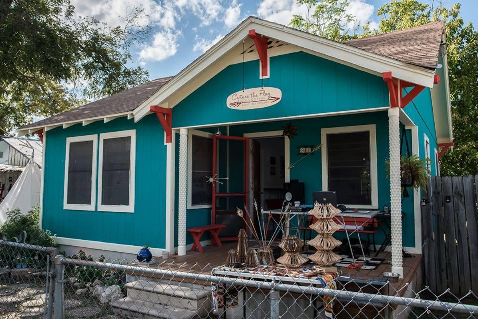 Capture the Flag Collective Studio Tour # 121, Austin TX 2013