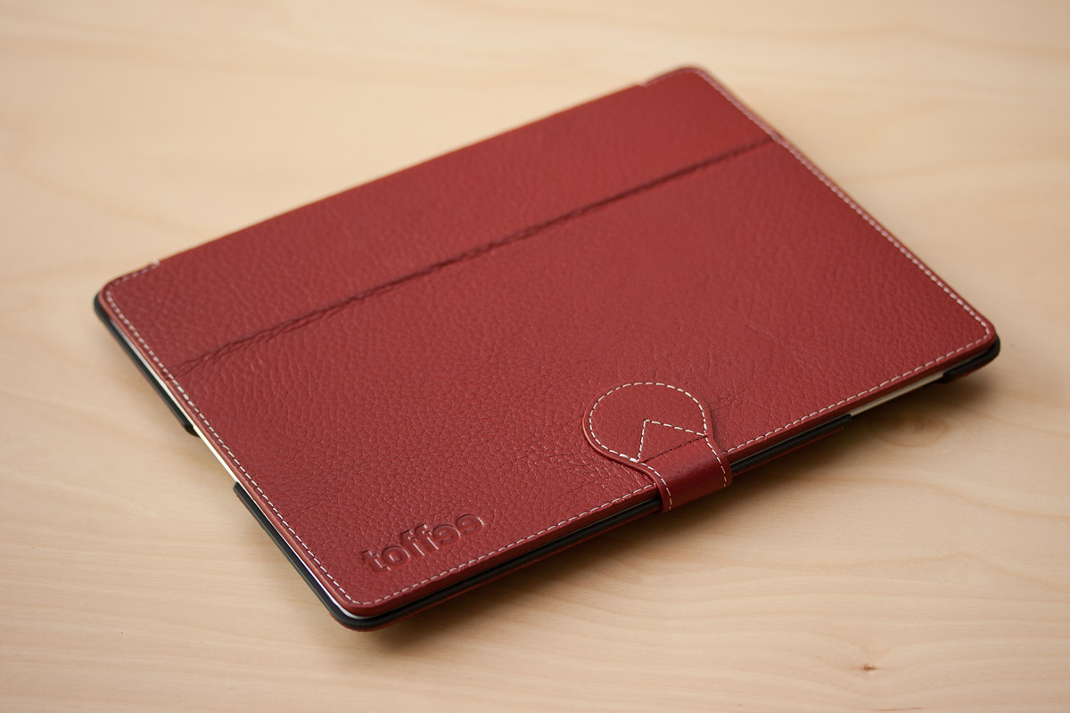 Toffee Slim Folio Red - Featured