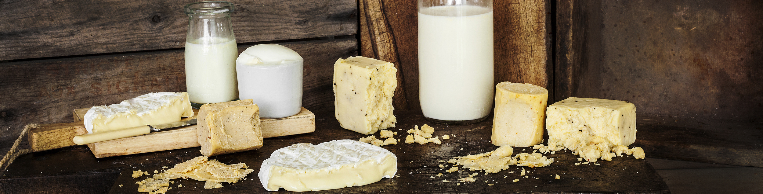 Food Connect's range of locally sourced, ethically traded dairy products