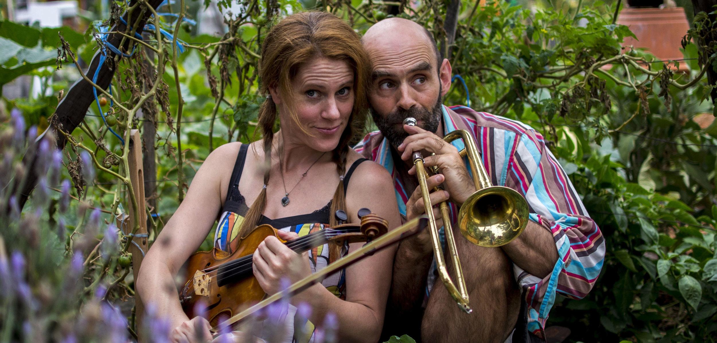 Mal Webb and Kylie Morrigan