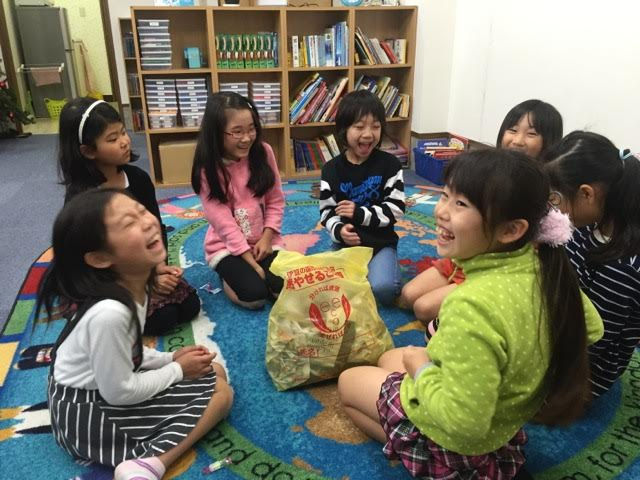 One of ten 'Happy Clubs' - where kids enjoy learning English and hearing the Gospel