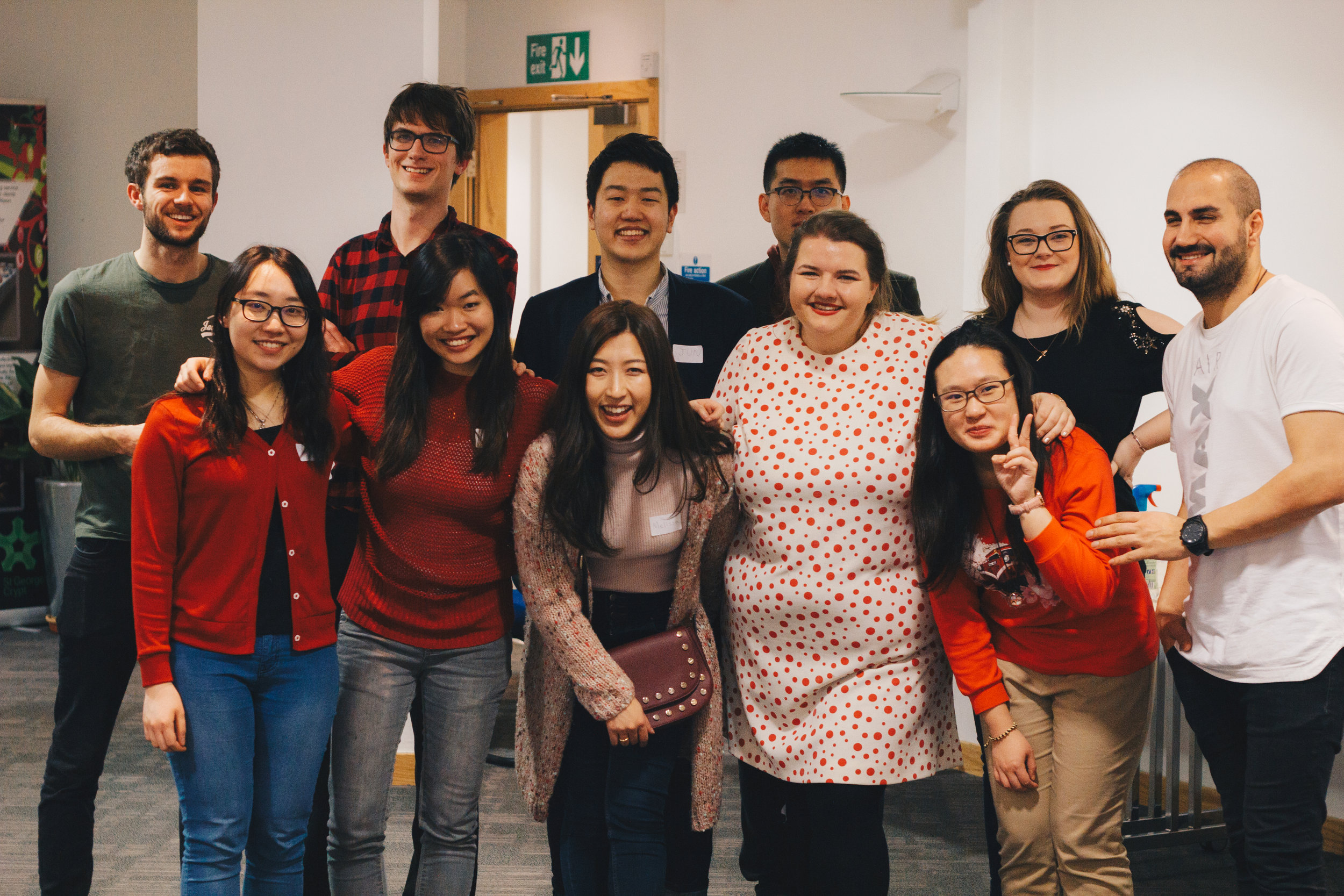 International Student Network - Thursdays 7.30pm at St Gs Centre