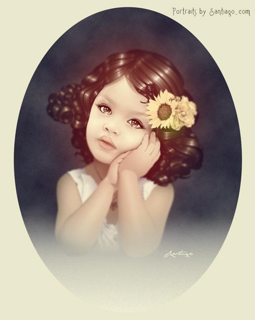 Children's Portrait art