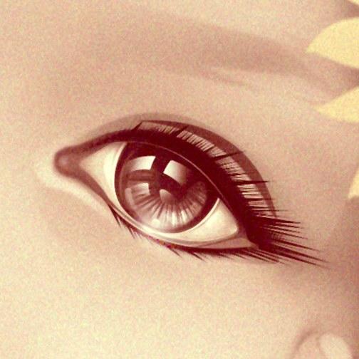 Eye detail portrait