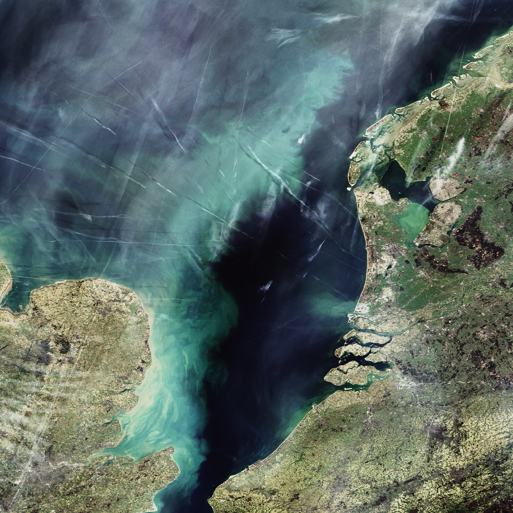 North Sea-Image-Image Copyright European Space Agency (ESA)