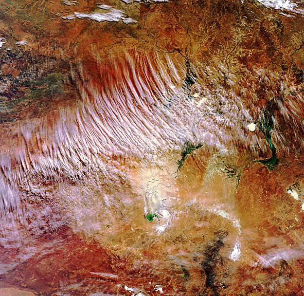 Australia's 'Red Centre'-Copyright European Space Agency (ESA)
