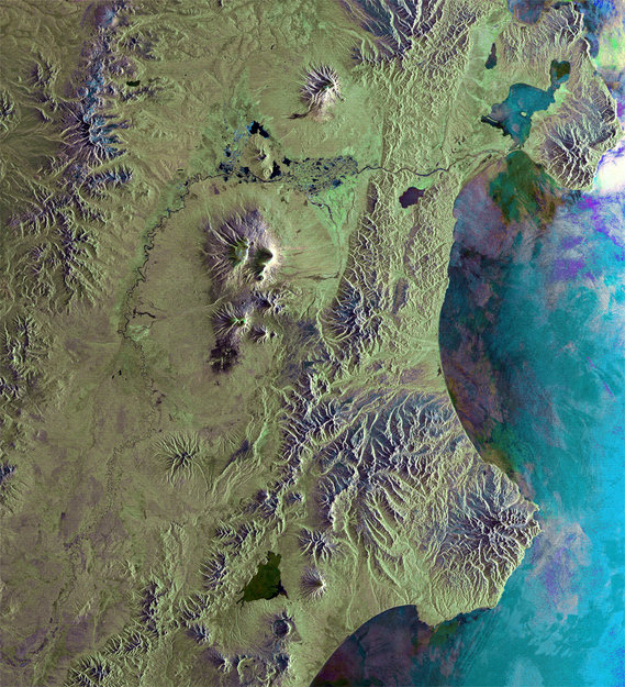 Kamchatka Peninsula-Copyright European Space Agency (ESA)