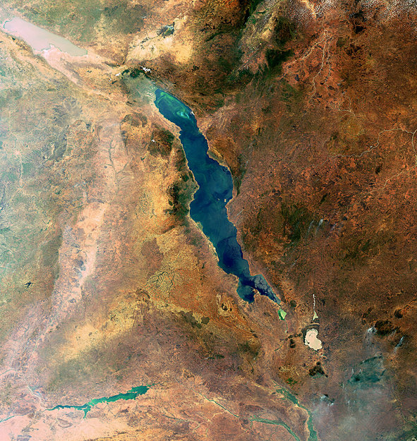Lake Malawi, Great Rift Valley-Copyright European Space Agency (ESA)