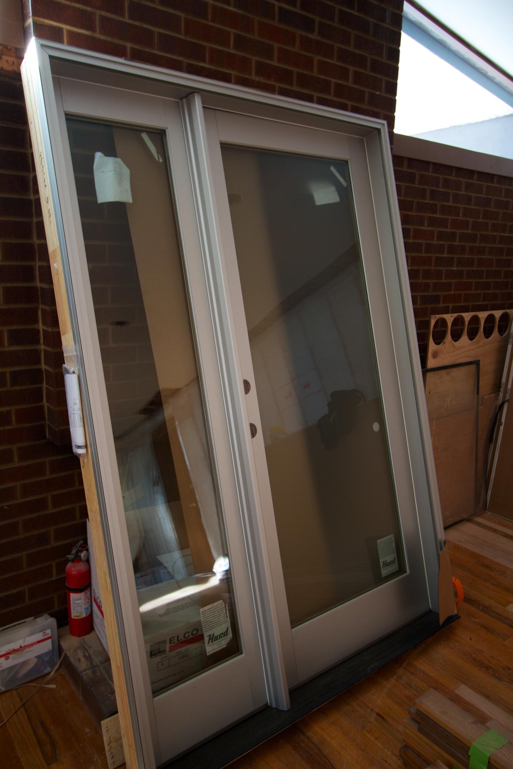 Hurd Anodized Alum Door