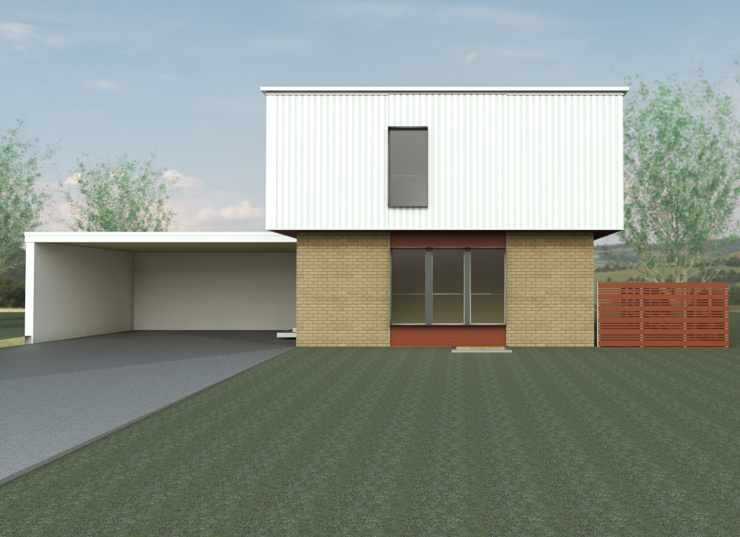 07 Martins_Residence_3D_View_-_front_from_street_-_straight_on_-_dark_gray_boxes.png
