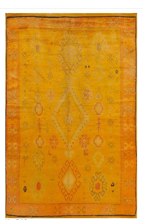 Moroccan Rug, Matt Camron Rugs & Tapestries, Denver, CO