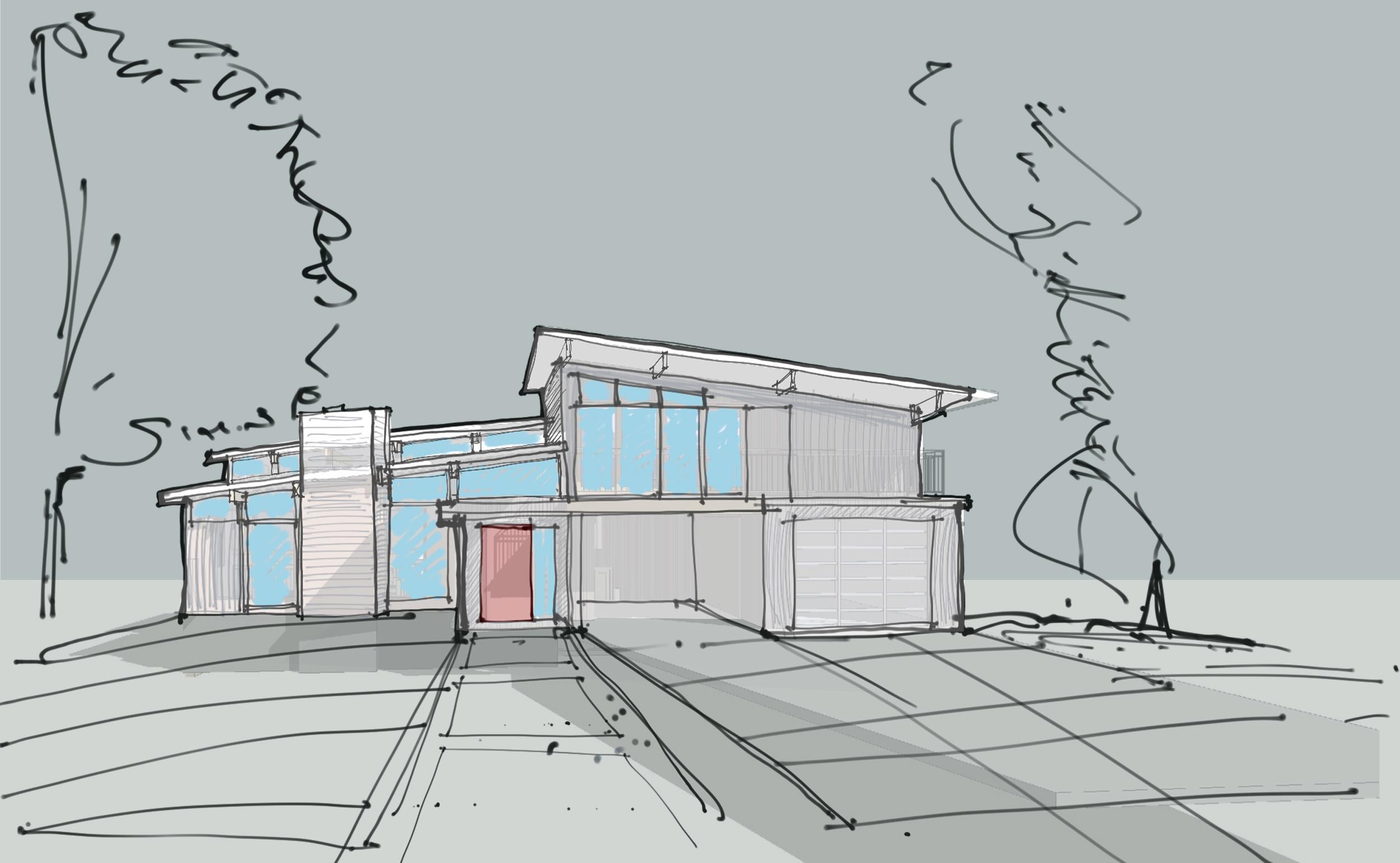 Grant - Perspective sketche - Side Shed Roof.jpg