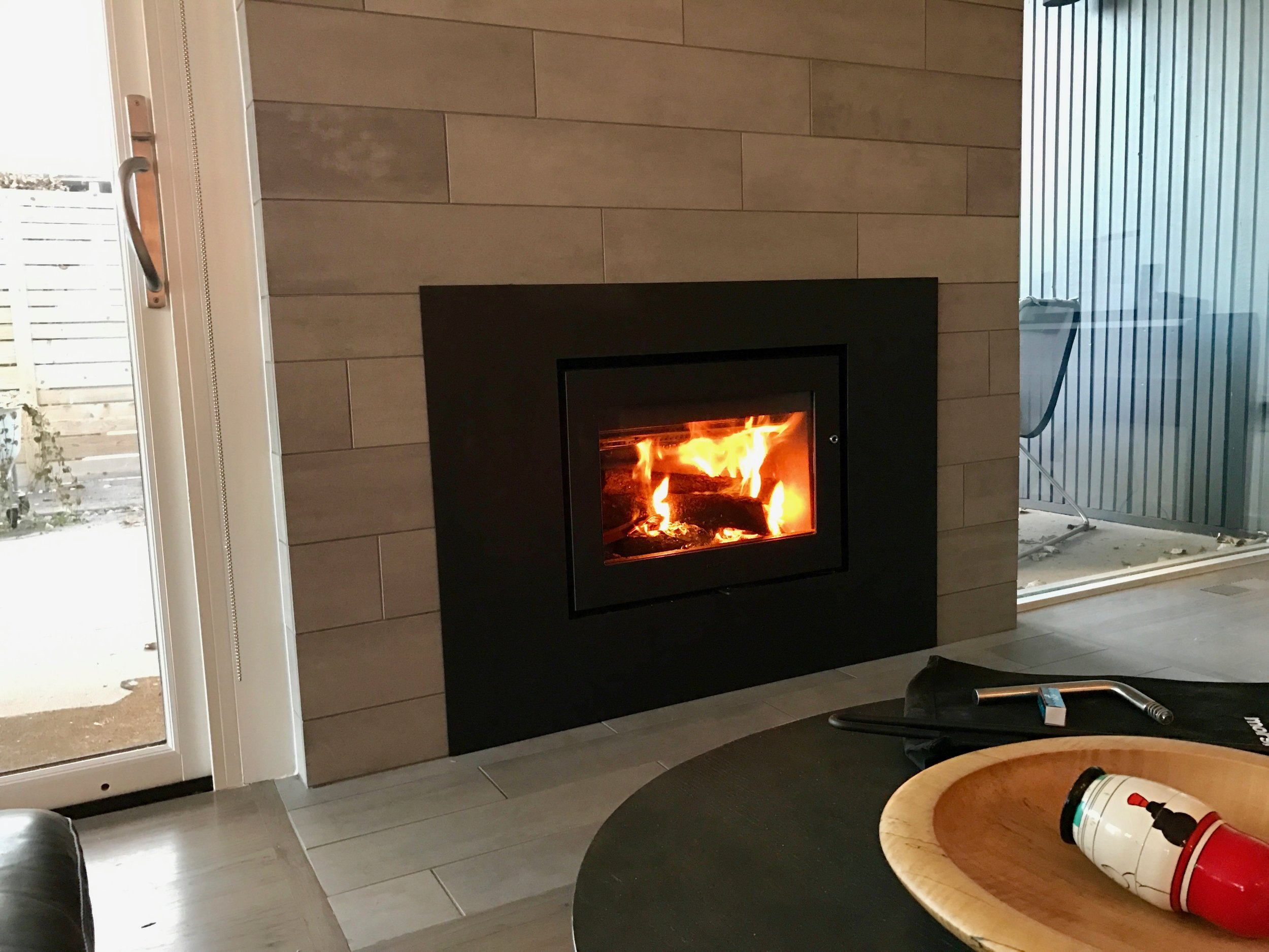 Modern Woodburning Fireplaces Cadence Design Studio