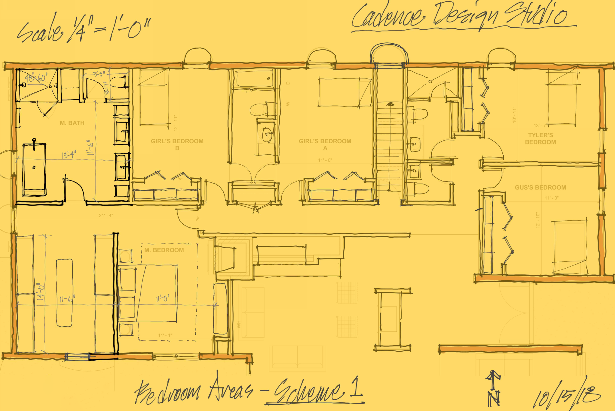 Wellshire Schematic Design Plan Sketche Bedroom Areas Scheme 1.png