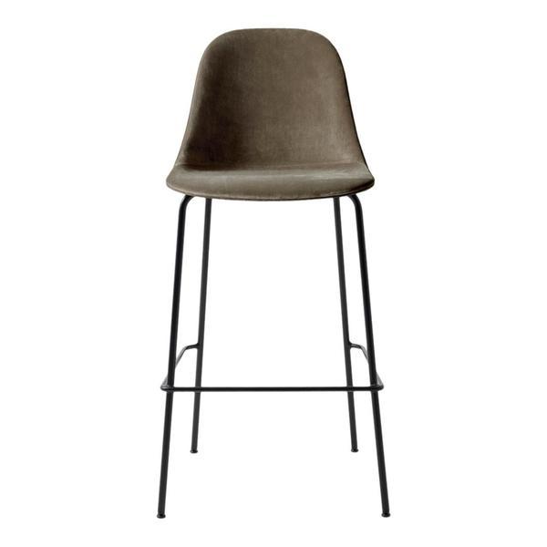 Super velvety cush stool by Menu, the Harbour Bar Side Chair Fully Upholstered Stool, $543 at  DesignPublic .
