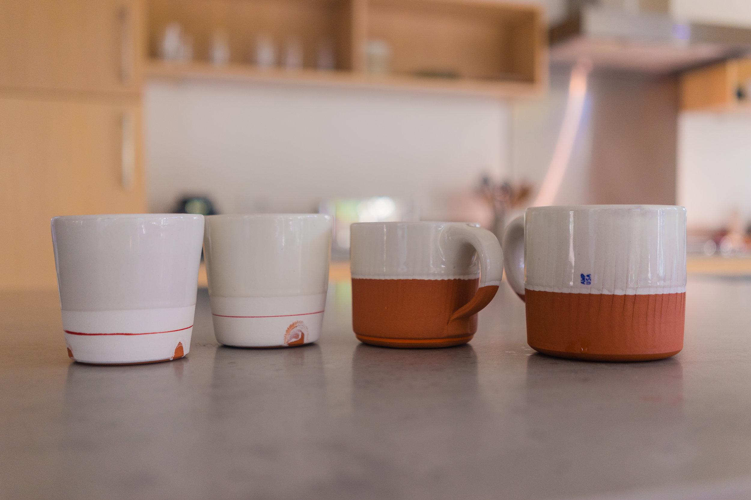Alex Watson Pottery at home