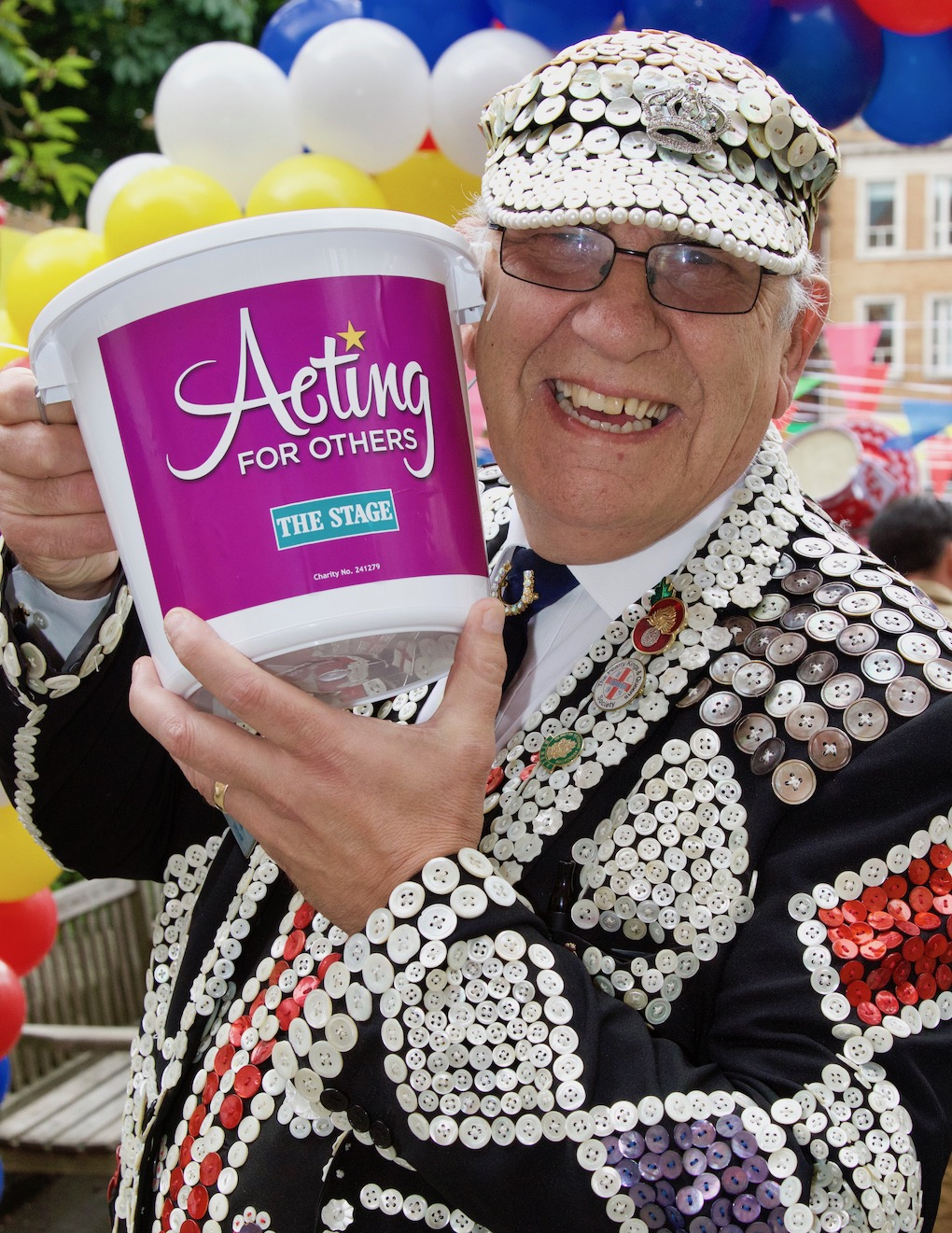 Our main fundraising event occurs every October, where we hold bucket collections in theatres across the country.